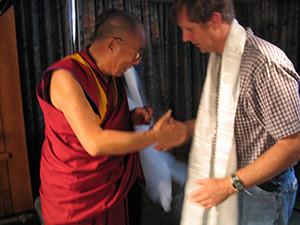 Meeting Dali Lama